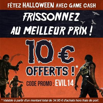 Actualit 10 euros de r duction sur gamecash fr avec le - Code promo vente du diable frais de port offert ...