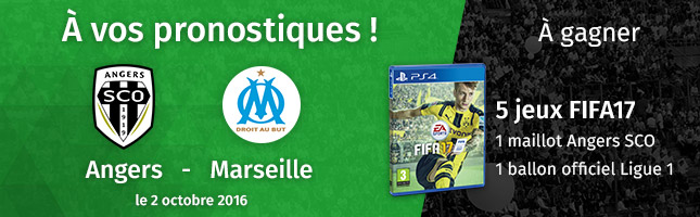 CONCOURS FIFA 17 - ANGERS SCO