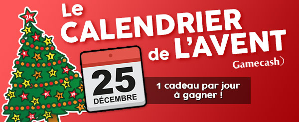Calendrier By Gamecash J1