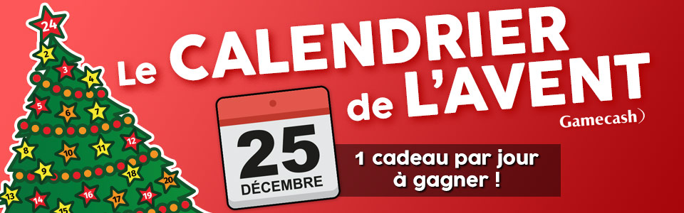 Calendrier By Gamecash J25