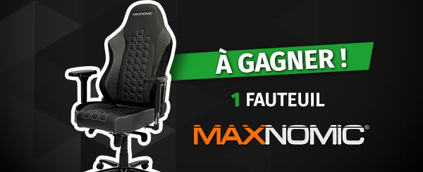 Concours siège gaming - Needforseat