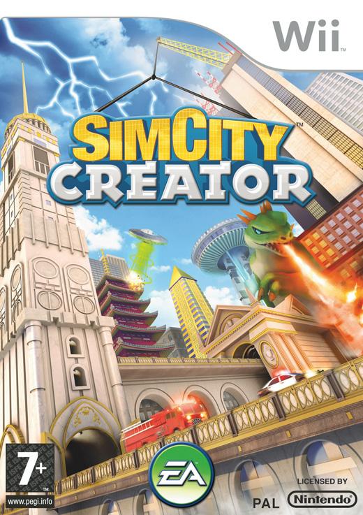 sim city creator wii argus jeux vid o d 39 occasion cotation jeux vid o prix. Black Bedroom Furniture Sets. Home Design Ideas
