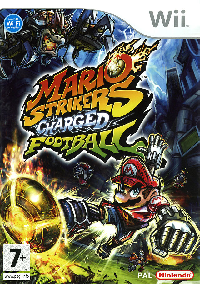 mario strikers charged football wii argus jeux vid o d 39 occasion cotation. Black Bedroom Furniture Sets. Home Design Ideas