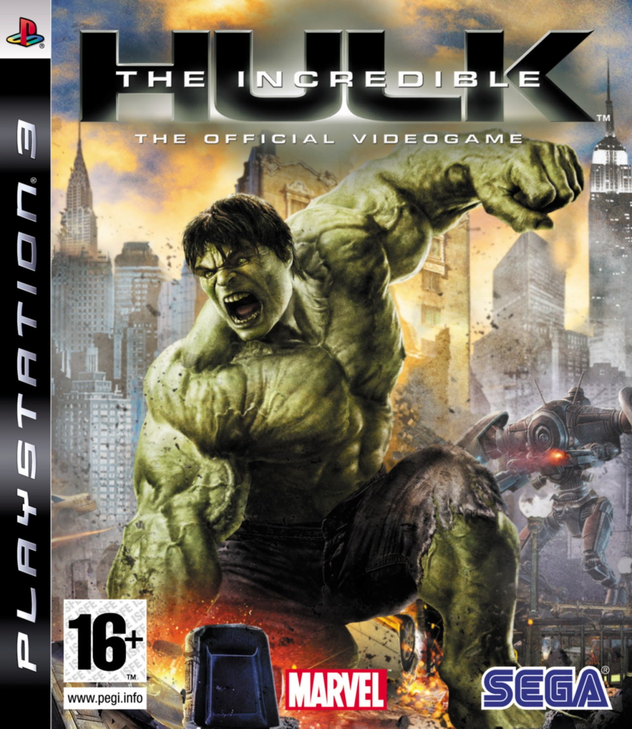 the incredible hulk ps3 argus jeux vid o d 39 occasion cotation jeux vid o. Black Bedroom Furniture Sets. Home Design Ideas