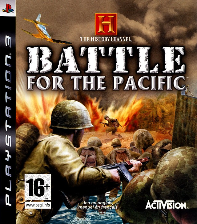 the history channel battle for the pacific ps3 argus jeux vid o d 39 occasion. Black Bedroom Furniture Sets. Home Design Ideas