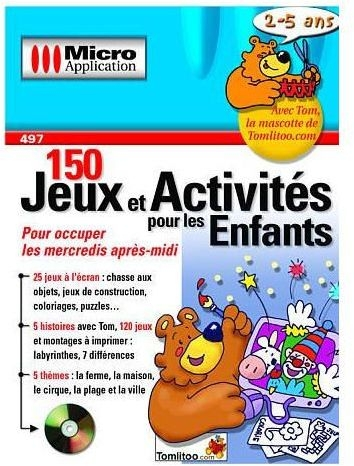 150 jeux et activites pour les enfants 2 5 ans - PC - Jeux Occasion Pas Cher - GameCash
