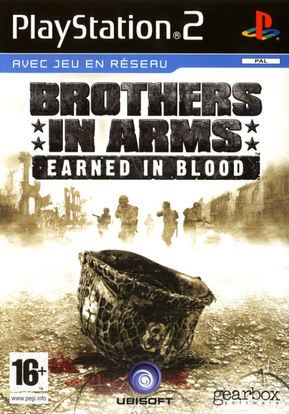 brothers in arms earned in blood ps2 argus jeux vid o d 39 occasion cotation. Black Bedroom Furniture Sets. Home Design Ideas