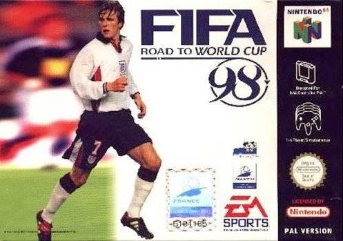 Fifa 98 en route pour la coupe du monde
