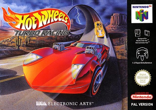 hot wheels turbo racing n64 argus jeux vid o d 39 occasion cotation jeux vid o. Black Bedroom Furniture Sets. Home Design Ideas