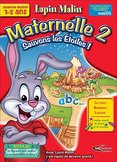 Lapin Malin : Maternelle Moyenne Section - Sauvons les Etoiles