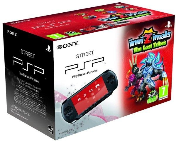 console psp street et invizimals the lost tribes e
