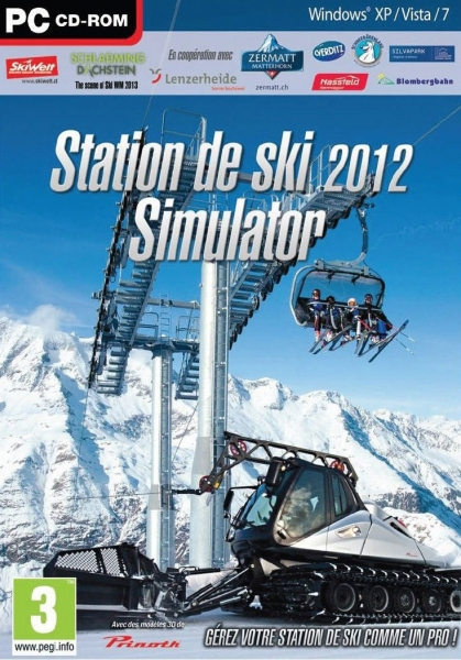 station de ski simulator 2012 pc jeux occasion pas cher gamecash. Black Bedroom Furniture Sets. Home Design Ideas