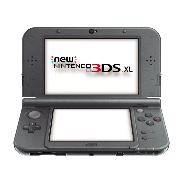 console new nintendo 3ds xl noire m tallique 3ds console occasion pas cher gamecash. Black Bedroom Furniture Sets. Home Design Ideas
