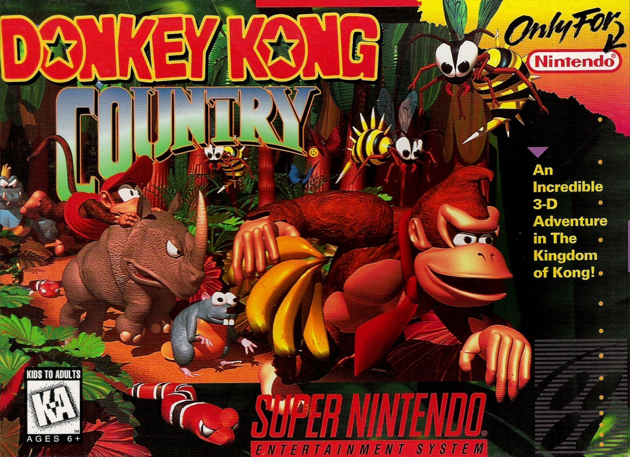 Donkey Kong Country meilleur jeux SNES