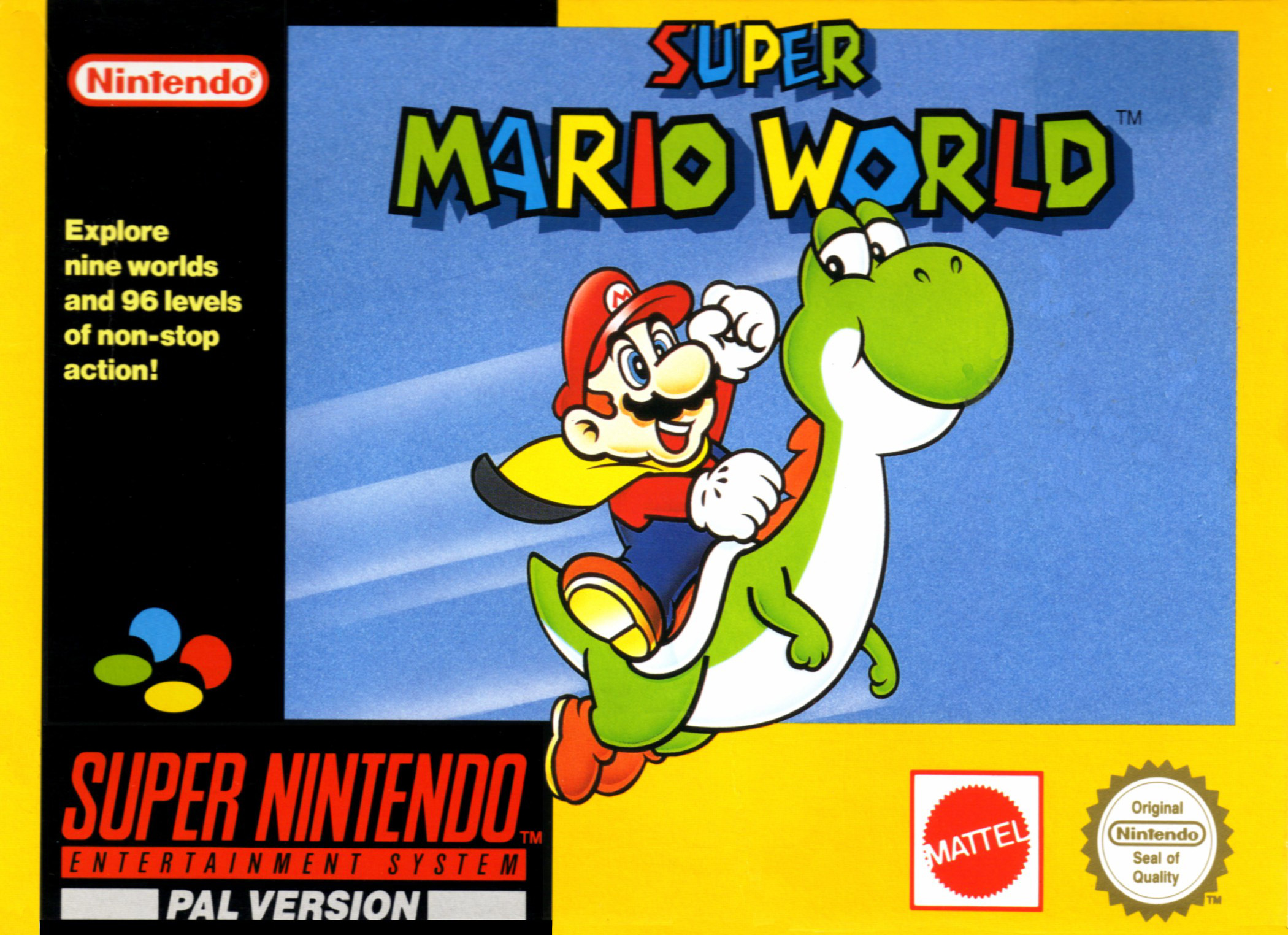 Super Mario World Meilleur Jeux SNES