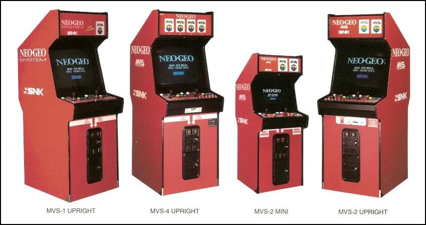 borne arcade neo geo mvs